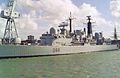 HMS Glasgow (D88) Type 42 destroyer 4,820 tonnes Royal Navy. (11663119283).jpg
