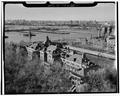HOSPITAL COMPLEX (build 1902-08), LOOKING NORTH - Ellis Island, New York Harbor, New York, New York County, NY HABS NY,31-ELLIS,1-12.tif