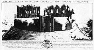 Runcorn - Halton Castle in the 18th century