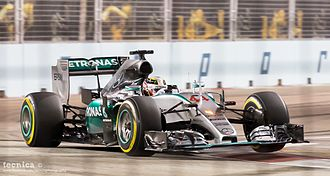 2015 Singapore Grand Prix - Lewis Hamilton retired from a race for the first time since the 2014 Belgian Grand Prix.