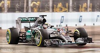 Mercedes F1 W06 Hybrid - Mercedes endured their weakest weekend of the season at Singapore.