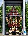 Hamm Hindutempel Sri-Kamadchi-Ampal Tempelwagen 02.jpg