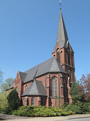 Hamminkeln - Image: Hamminkeln, kerk 1 foto 2 2011 04 11 13.34
