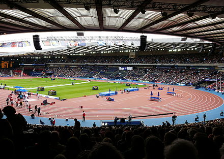 Athletics at the Hampden Park Hampden Park Glasgow Commonwealth Games Day 9.JPG