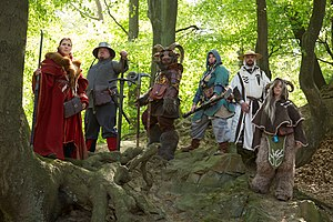 Role-playing game - A fantasy LARP group