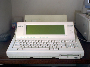 English: Image of a now obsolete hardware type...