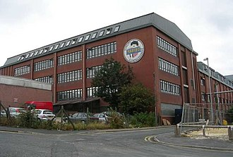 Haribo factory in Pontefract on the A639 in the centre of the town near Tanshelf station Haribo Sweets Factory - Sessions House Yard - geograph.org.uk - 576986.jpg