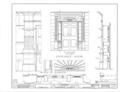 Harper House, Wrightsboro Road, Augusta, Richmond County, GA HABS GA,123-AUG.V,1- (sheet 7 of 11).png
