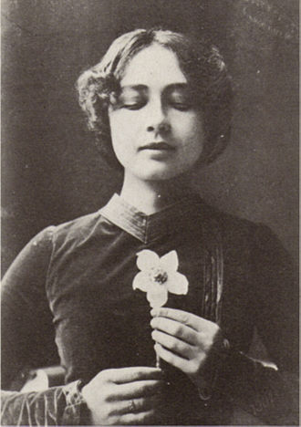 Harriet Bosse - Bosse as the Lady in the première of To Damascus at the Royal Theatre in 1900.