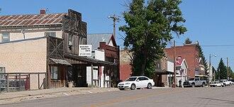 Harrison, Nebraska - Main Street