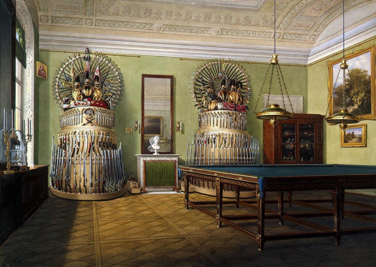 File Hau Interiors Of The Winter Palace The Billiard