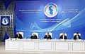 Heads of State of Caspian littoral states made press statements at Aktau Summit 2.jpg