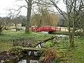 Heale House, footbridge - geograph.org.uk - 1761037.jpg