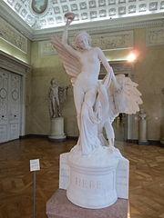 Hébé et l'aigle de Jupiter (François Rude)