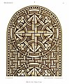 Heiligenkreuz Kreuzgang Glasfenster I.jpg