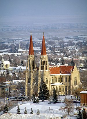 Helena, Montana - The St. Helena Cathedral.