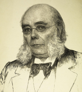 Hendrik Pierson krijtlitho door Jan Veth (1896)