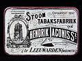 Hendrik Taconis Sz tabaksfabriek De Oldehove blikje, foto1.JPG