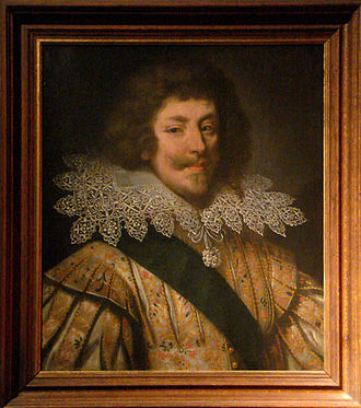 Duke of Montmorency - Portrait of Henri II Duke of Montmorency (1595 - 1632)