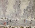 Henry Déziré, Les patineurs.jpg