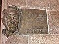 Here-lived plaque to Mykola Nagnybida in Kyiv (2014 WmCEE, Benoît Prieur).jpg
