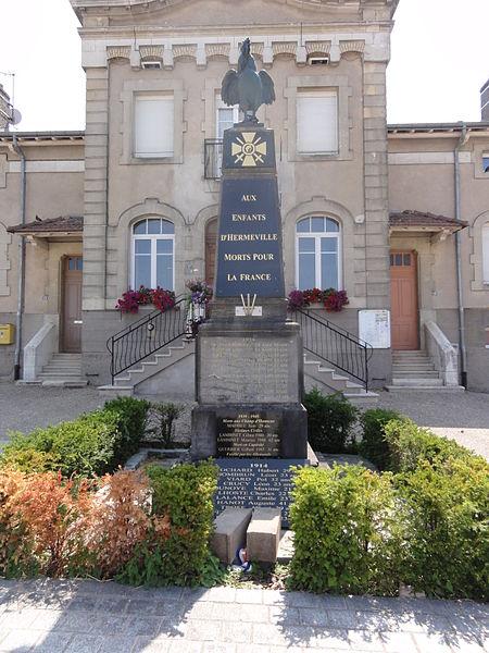 Hermeville-en-Woëvre (Meuse) monument aux morts