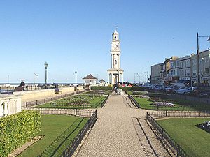 Clock tower in Herne Bay, Kent