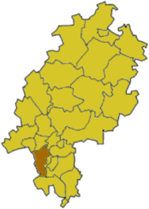 Groß-Gerau (district) - Image: Hesse gg