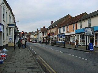 Great Dunmow Human settlement in England