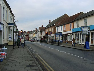Great Dunmow - Image: High Street, Great Dunmow geograph.org.uk 388676