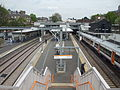 Highbury & Islington stn Overground high eastbound April 11.JPG