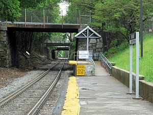 Highland MBTA station.JPG
