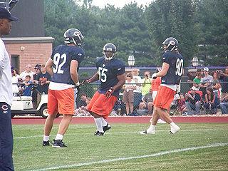 Hunter Hillenmeyer American football linebacker