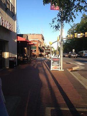 Hillsborough Street - Hillsborough Street in Raleigh
