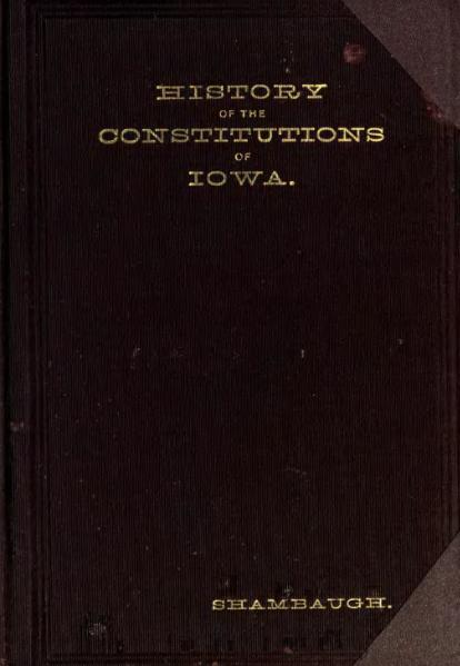 File:History of the constitutions of Iowa.djvu