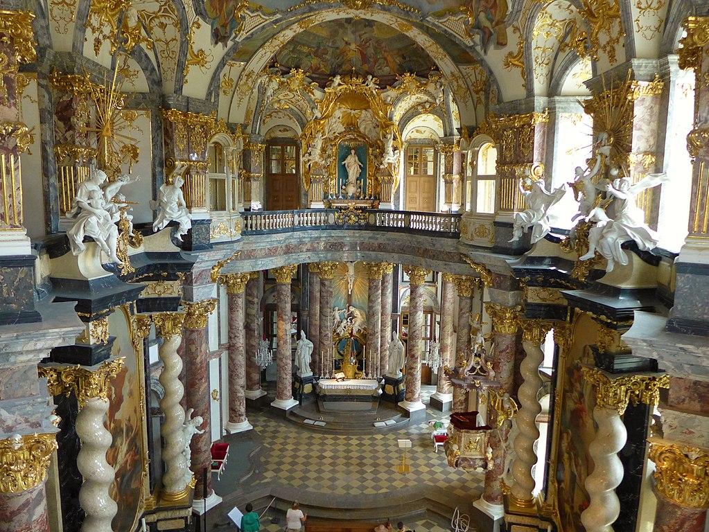 Hofkirche der Würzburger Residenz