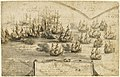 Holme's attack on the Smyrna Fleet, 12 March 1672 RMG PW5525.jpg