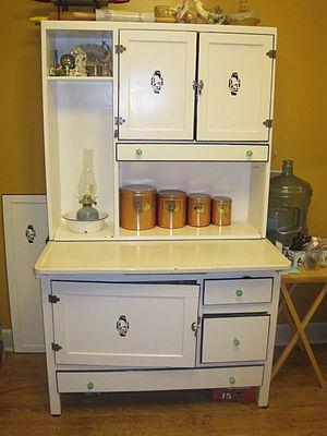 Hoosier cabinet - A Hoosier Cabinet