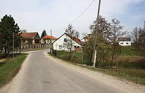 Horní Radslavice - Image: Horní Radslavice, main street