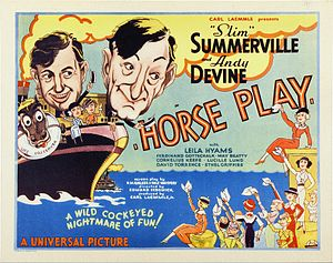 Horse Play - Theatrical release poster
