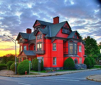 Montgomery County, New York - Image: House in Amsterdam, NY crop