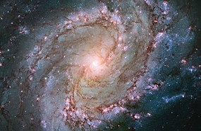 Hubble view of barred spiral galaxy Messier 83.jpg
