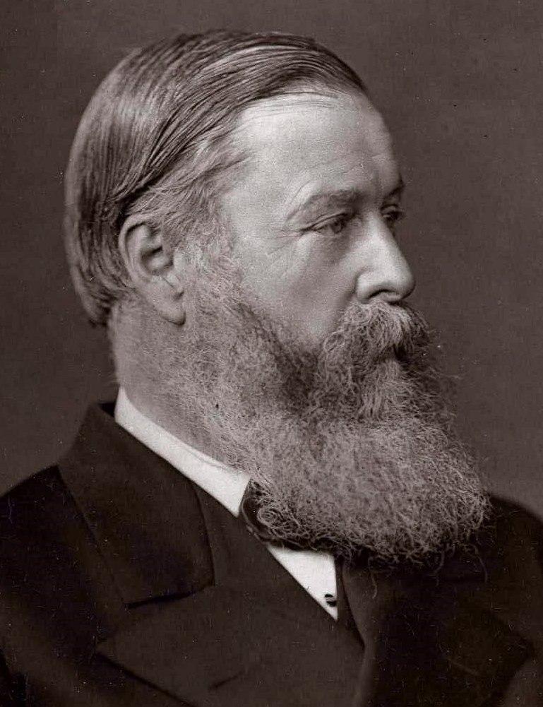 Hugh Childers, Lock & Whitfield woodburytype, 1876-83 crop