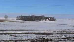 National Register of Historic Places listings in Union County, South Dakota - Image: Hulteboda Farm from SW 2 long