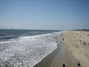 Huntington Beach during the day.
