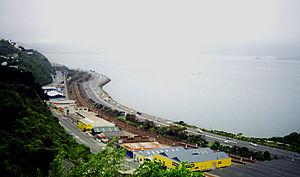 Kaiwharawhara - Kaiwharawhara viewed from Barnard Street