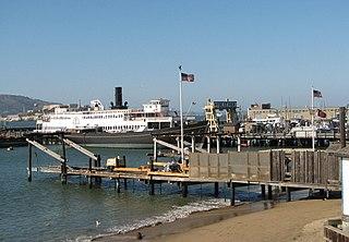 Hyde Street Pier pier in San Francisco