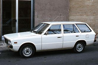 Hyundai Pony - A station wagon version joined the range in April 1977