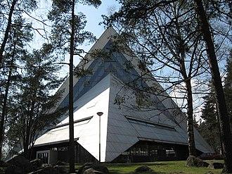 Aarno Ruusuvuori - Image: Hyvinkää church 2