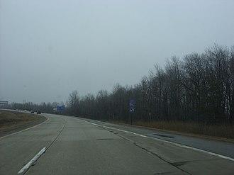 Interstate 69 in Michigan - Image: I 94 I 69 EB Port Huron